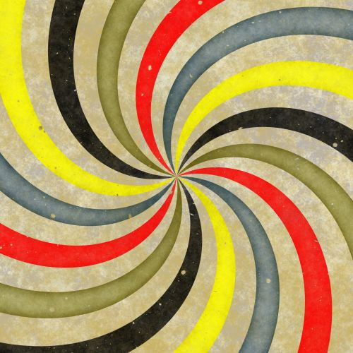 Swirling Colorful Stripes