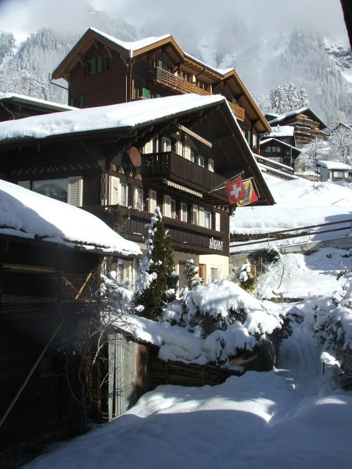 swiss chalets traditional
