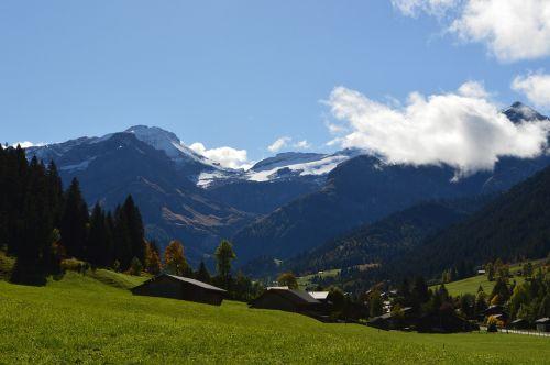 swiss alps lauenen bernese alps