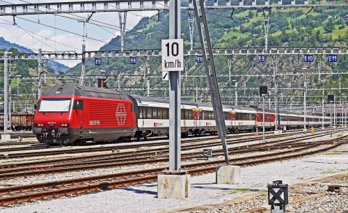 swiss federal railways abstellanlage brig