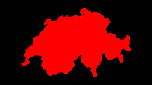 swiss map switzerland map