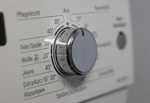 switch knob washing machine