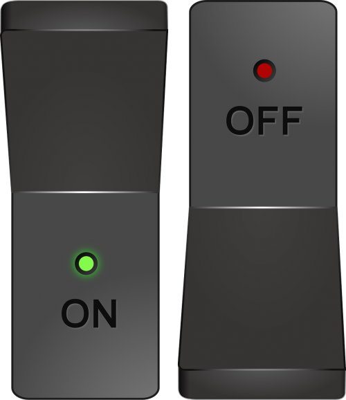 switch button power
