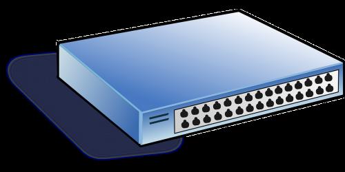 switch hub network