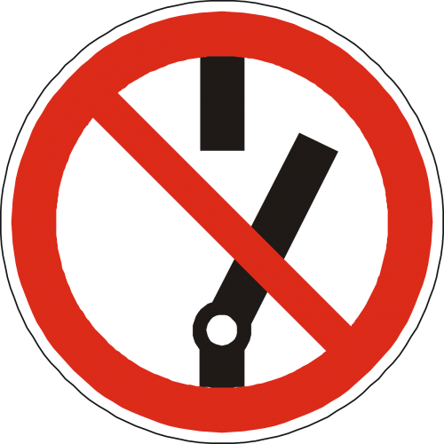 switch prohibited forbidden