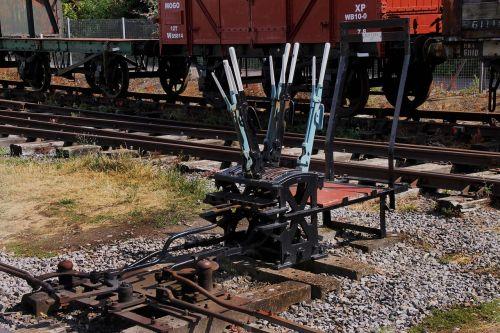 switch gear train switching rail