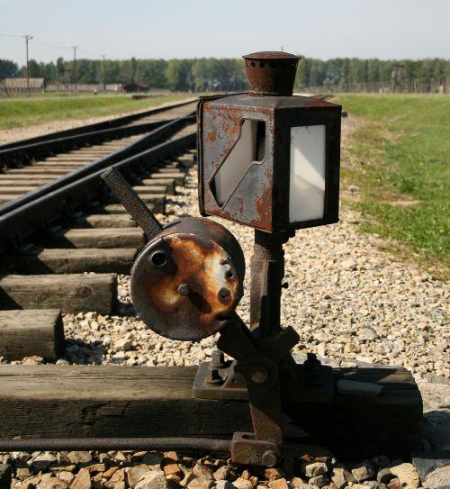 switch point rail track
