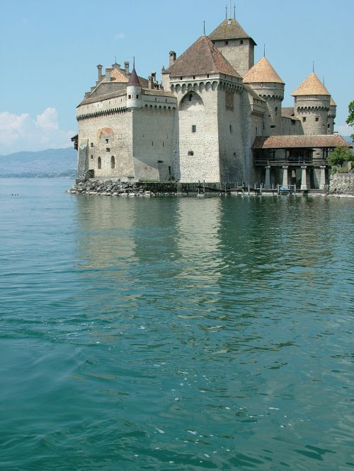 switzerland montreux château chillon