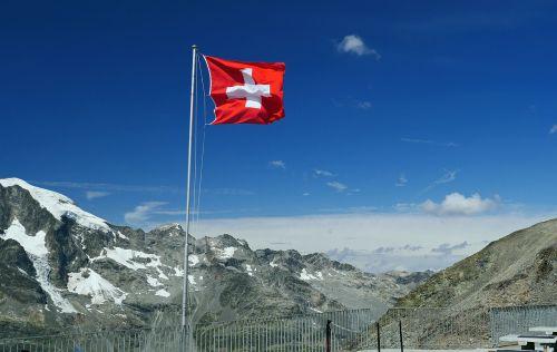 switzerland national flag graubünden