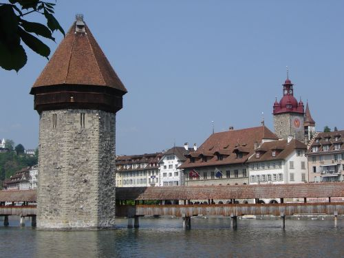 switzerland lucerne fortification tower