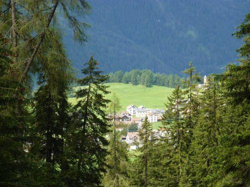 switzerland graubünden lenz