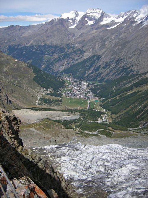 switzerland mountains sass-fee