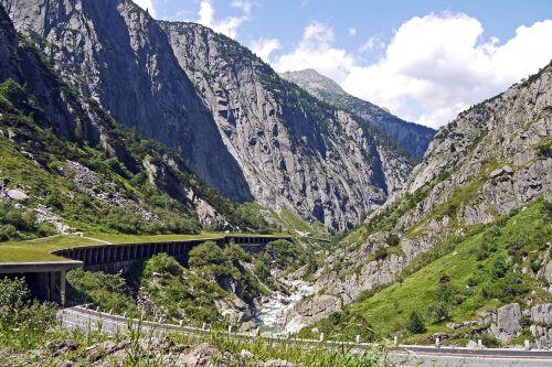 switzerland gotthard schöllenen gorge