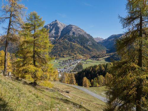 switzerland engadin autumn