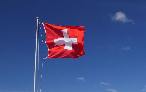 switzerland,national flag,wind,sky,clouds,flag,banner,red,cross,swiss flag