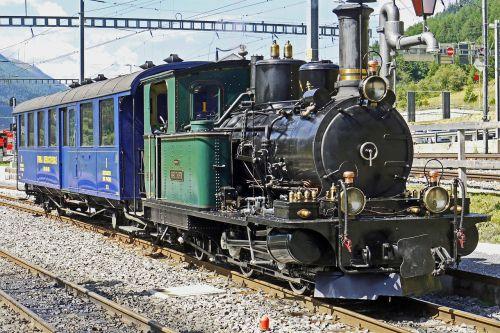 switzerland steam locomotive steam railway furka-bergstrecke