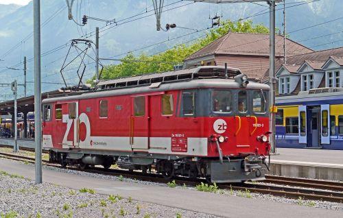 switzerland interlaken eastern railway station