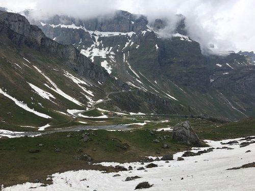 switzerland  klausen pass  pass road
