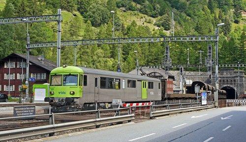 switzerland  lötschberg  the apex tunnel