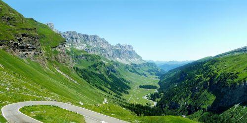 switzerland summer klausen pass