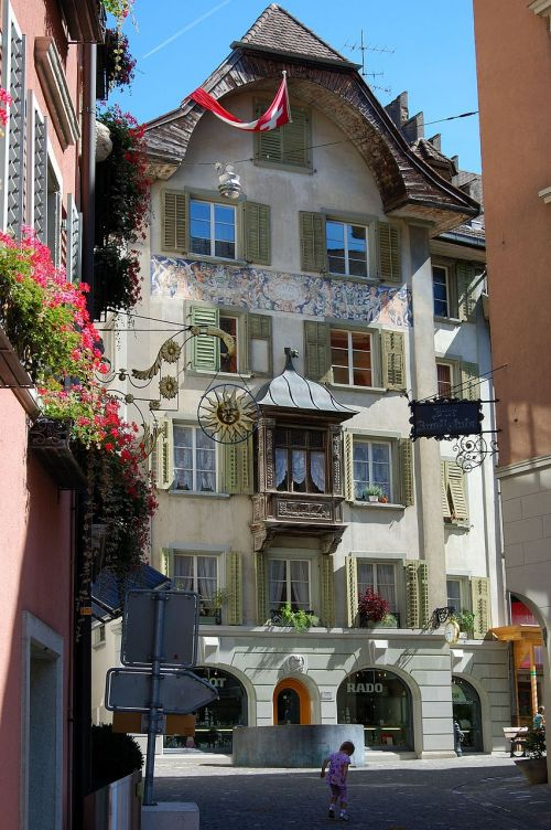 switzerland bremgarten old town