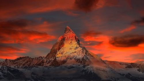 switzerland zermatt mountains