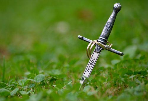 sword rings marriage