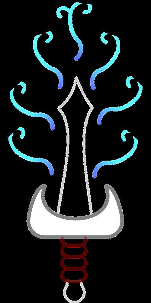 sword magic glowing