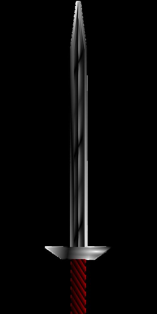 sword blade weapon