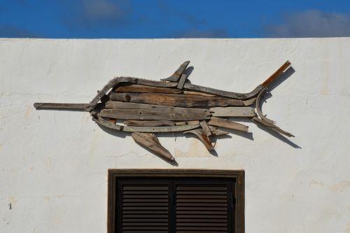swordfish art sculpture