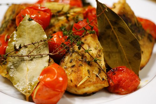 swordfish and tomatoes with herbs baked in the oven  sailfish  time