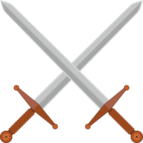 swords middle ages historically