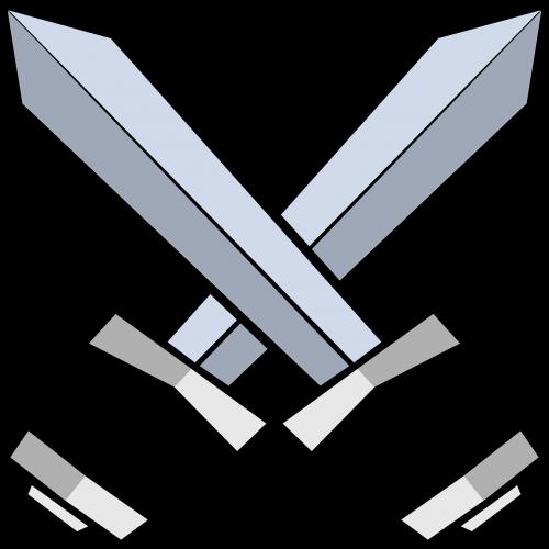 swords battle blades