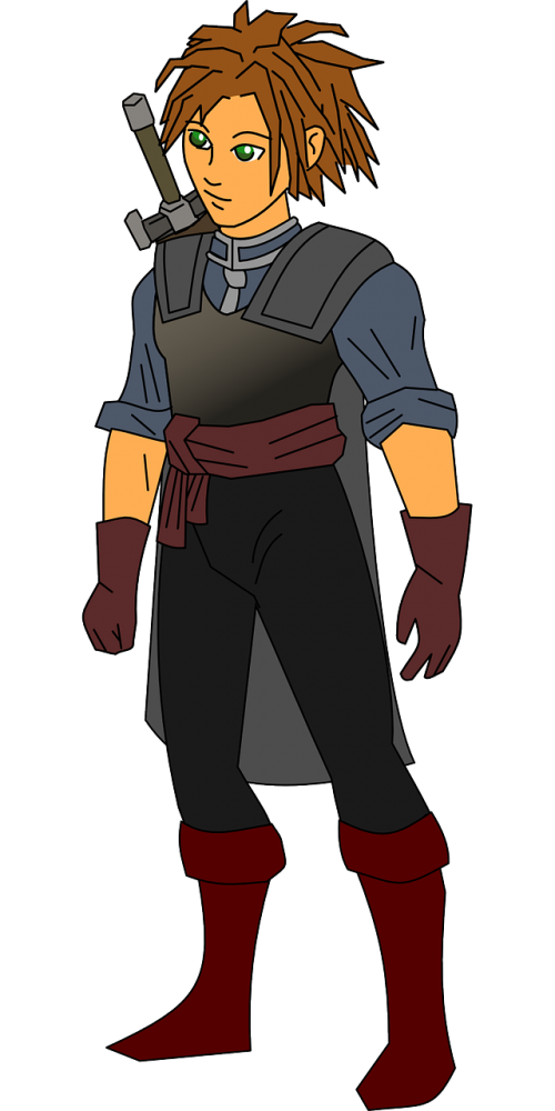 swordsman warrior fighter