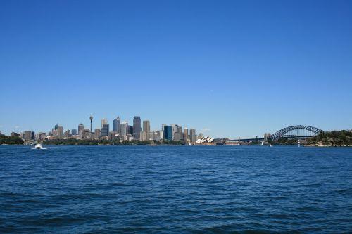 sydney skyline city