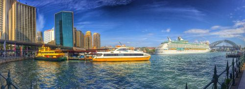 sydney port cruise ship