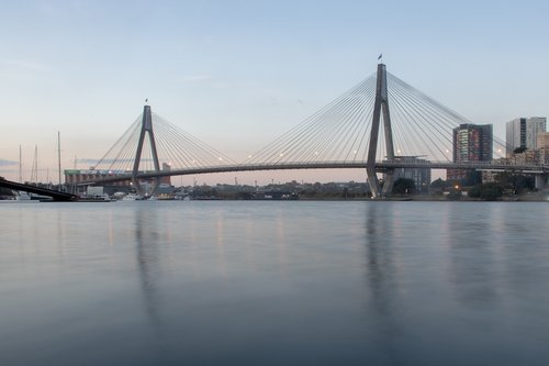 sydney  anzac  bridge