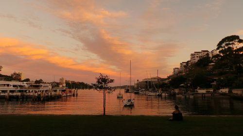 sydney australia sunset