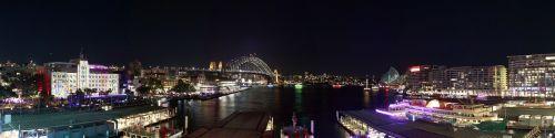 sydney australia night