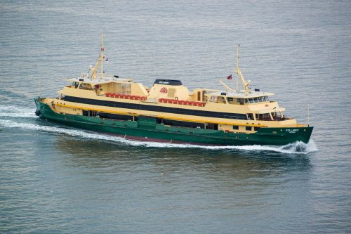 sydney harbour manly ferry boat
