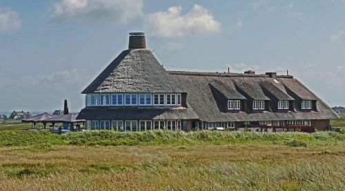 sylt thatched roof dunes