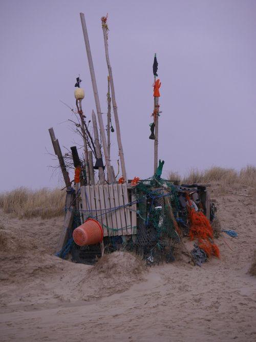 sylt beach garbage