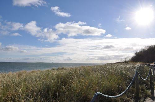 sylt north sea dunes