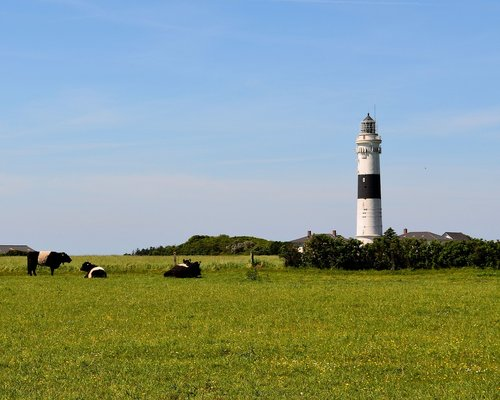 sylt  lighthouse  kampen