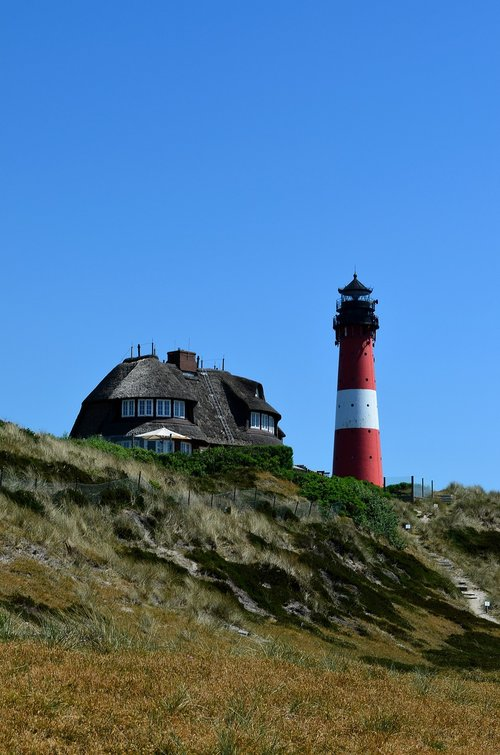 sylt  hörnum  lighthouse