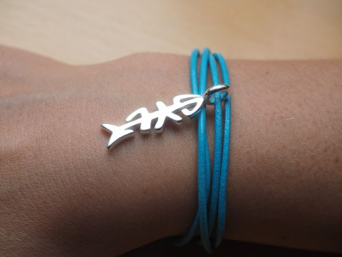 sylt fish jewellery bracelet