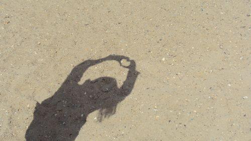 symbol heart beach