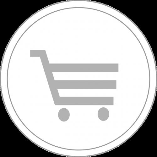 symbol shopping cart