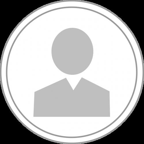 symbol profile person