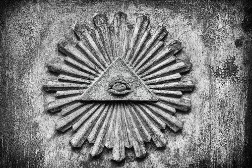 symbol  eye  illuminati